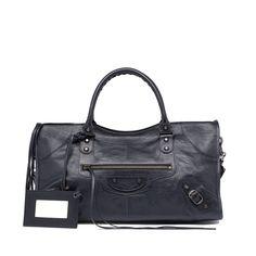 Balenciaga Black/ Black - Part Time 1875/1275e