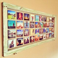 Antique Window Photo Print Display - A PostalPix blog!