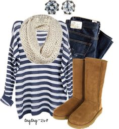 Love this casual/comfy look from DressInterest!