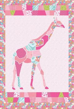 G is for Giraffe - Giraffe Quilt
