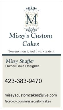 Cute cupcake business card Business cards Cupcake and Business