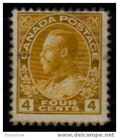 CANADA   Scott   #  110  F-VF USED http://www.delcampe.com/page/item/id,0013424677,language,E.html