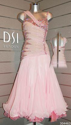 Chelsee Healey rose pink ballroom dress