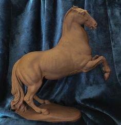 034-Sky-Master-034-Meissen-Mid-Century-Iberian-Stallion-Bottger-Horse-Figurine