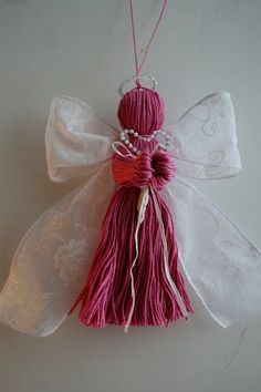 Homemade Angel Christmas Ornaments - Bing Images  This are simple to make - I had 15 for christmas gifts one year.