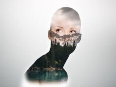 try double exposure effect