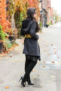 Belted - #Outfit post from Toronto Blogger Jocelyn Caithness   #Autumn #Style