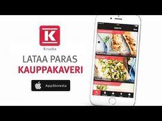 Lataa ilmaiseksi K-Ruoka mobiilisovellus omaan laitteeseesi. Uusille lataajille nyt KAKSI maksutonta pakettia Kulta Katriina luomukahvia.