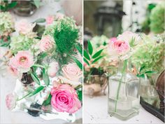 pink simple floral pieces for decor