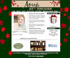 http://amysatrhodes.com -- Website makeover for Warrenton VA gift shop Amy's at Rhodes, by Herbst Marketing.  http://herbstmarketing.com/2013/02/02/website-design-virginia-warrenton-va-gift-shop/