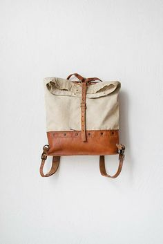 Reclaimed Materials Backpack | Orn Hansen.