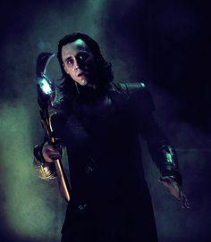 Loki burdened with glorious looks
