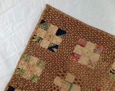 Vermont Nine Patch Doll Quilt