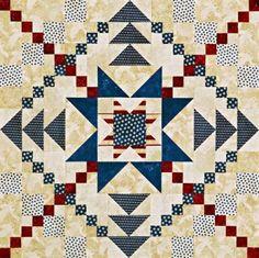 Star Block Wall Quilts | AllPeopleQuilt.com