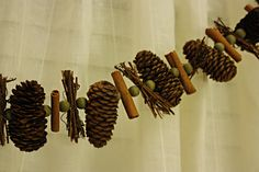 Rustic Christmas Ornaments | Sweet pinecones. With your texture and your warmth. you are my ...