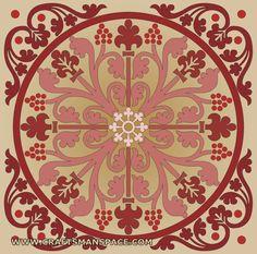 Ornament vectors - Square shape
