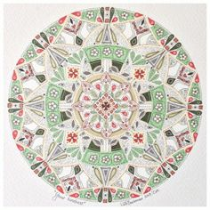 Mandala art from South Africa by Lize Beekman