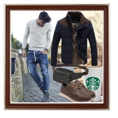 """He is so good :)"" by bamra ❤ liked on Polyvore featuring men's fashion and menswear"