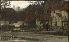 Maris, Matthijs (1839-1917) - 1863 Cityscape (Rijksmuseum, Netherland) | Flickr - Photo Sharing!