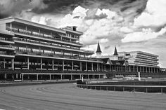 Churchill Downs, home of the Kentucky Derby, in Louisville, KY. Photo by @Joey Lax-Salinas