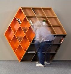 Rubika B601 bookcase