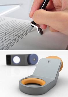 Straight line pen device by product designer Giha Woo