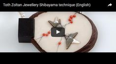 A short video of making a pendant used Shibayama technique