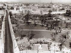 Berlin, Englische Garten April 1953.