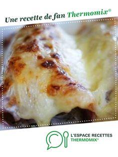 Endives au jambon sauce béchamel par fabflo. Une recette de fan à retrouver dans la catégorie Plat principal - divers sur www.espace-recettes.fr, de Thermomix<sup>®</sup>.
