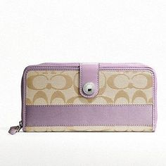 Wallet to match the sexy purple purse