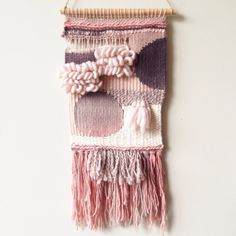 Woven Wall Hanging  Round and Round by WarpedThreadss on Etsy, $170.00