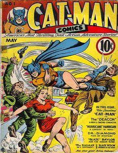 Charles Quinlan | Catman Comics #1 | Holyoke/Continental | 1941