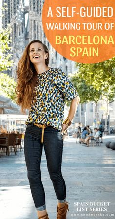 Spain Bucket List: A Self-Guided Walking Tour of Barcelona Barcelona Travel Guide, Visit Barcelona, Spain And Portugal, Culture Travel, Walking Tour, Cool Places To Visit, Travel Inspiration, Tours, Interactive Map