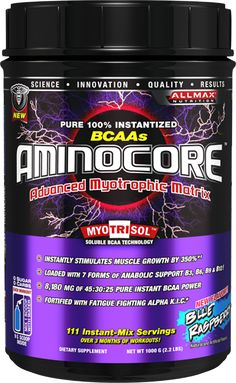 Allmax Nutrition AminoCore 400 Grams - Amino Acids - Performance, Muscle Building & Recovery - Sports Nutrition & More