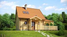 Projekt domu SZ5 Z57 - DOM OZ1-28 - gotowy projekt domu