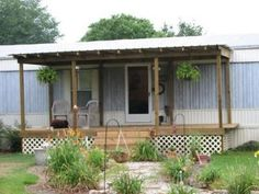 mobile home porch plans | View topic - Old porch, new porch pics...