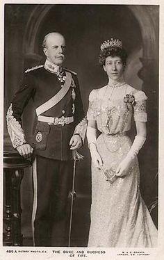 The Duke and Duchess of Fife
