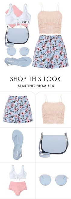 """Zaful bambi blue"" by varrica ❤ liked on Polyvore featuring Badgley Mischka, Tommy Hilfiger, Wildfox, bikini and zaful"