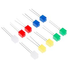 Build Upons LED - PTH (10 Pack) - COM-13312 - SparkFun Electronics #LEGO #MAKE #Makers #STEM #STEAM #SkillsGap