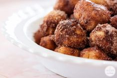 A Year of Yeast: Cinnamon Bun Bites - Inspired by CharmInspired by Charm