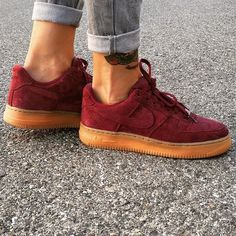 Sneakers femme - Nike Air Force 1 Suede (©celouuuuuuuu)