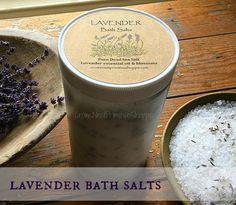 Pure+Lavender+Bath+Salts-32ounce