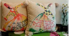 handmade sufi design pillow