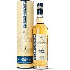 GLENCADAM 10 year old single malt Scotch whisky 700ml
