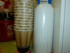 Buy to go coffee cups from Costco or BJ's and make your coffee at home.  Doing this saves time and money.