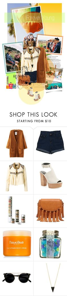 """Enjoy Your Youth"" by tortor1994 ❤ liked on Polyvore featuring Avenue, WithChic, Isabel Marant, Rebecca Minkoff, Sole Society, Natura Bissé and Alexis Bittar"