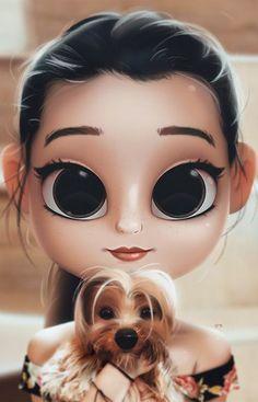 The Most Helpful Arts And Crafts Advice artoon, Portrait, Digital Art, Digital Drawing, Digital. Cute Girl Drawing, Cartoon Girl Drawing, Cartoon Drawings, Doll Drawing, Drawing Art, Drawing Eyes, 3d Drawings, Girly Drawings, Kawaii Drawings
