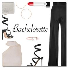 """Dress Rachel for the Bachelorette!"" by danielle-487 ❤ liked on Polyvore featuring Balmain, Cushnie Et Ochs, Gianvito Rossi, Marc Jacobs, Anita Ko, Catbird and Bachelorette"