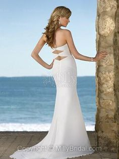 Mermaid backless dress