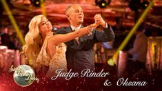 Judge Rinder & Oksana Foxtrot to 'You Make Me Feel So Young' by Harry Co...